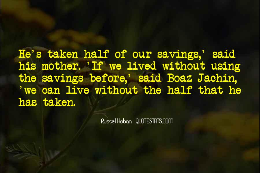 Quotes About Saving Money #1118872