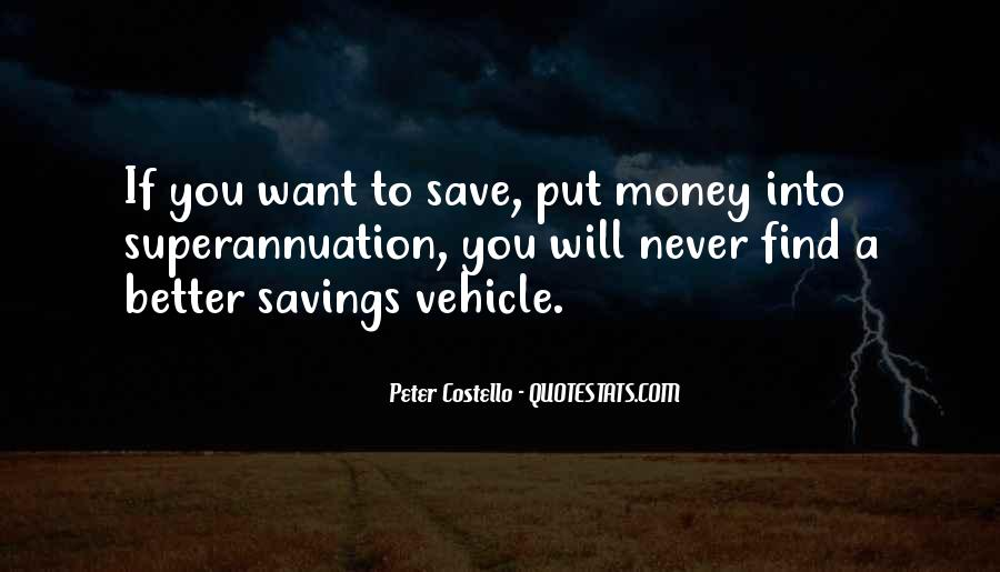 Quotes About Saving Money #122685