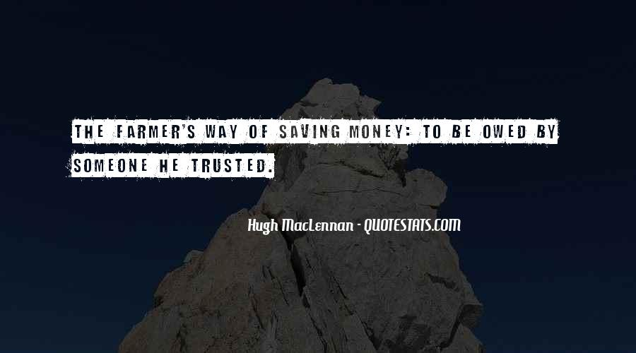 Quotes About Saving Money #1281777