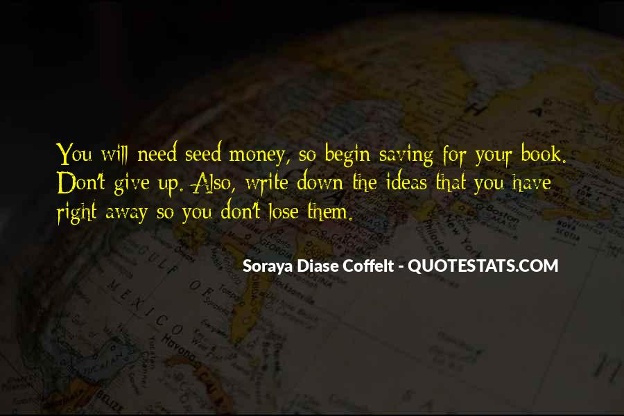 Quotes About Saving Money #162032