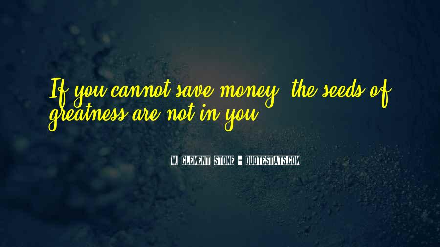 Quotes About Saving Money #269706
