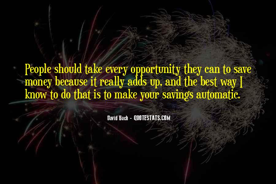 Quotes About Saving Money #299108