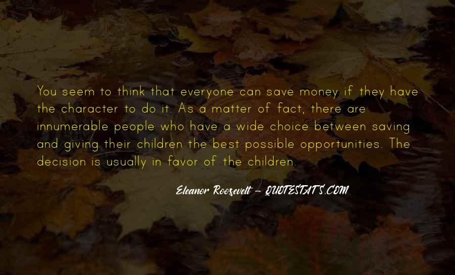 Quotes About Saving Money #482552
