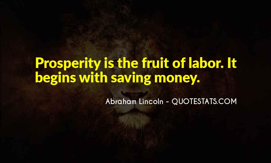 Quotes About Saving Money #514366