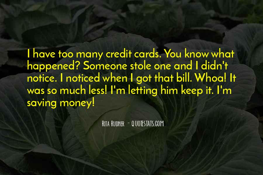 Quotes About Saving Money #623602