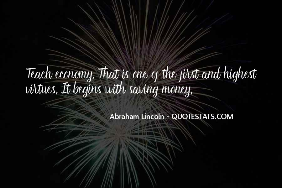 Quotes About Saving Money #831207
