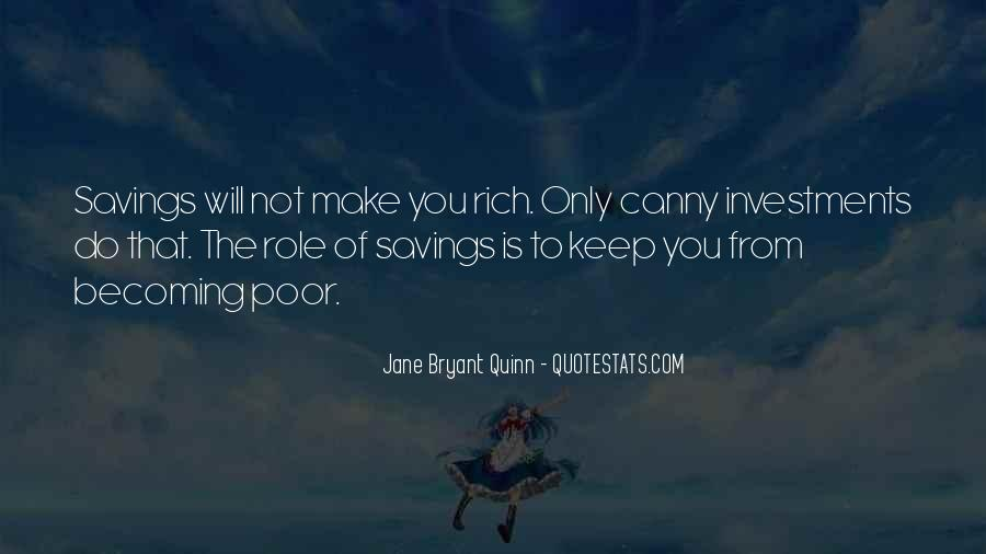 Quotes About Saving Money #842395