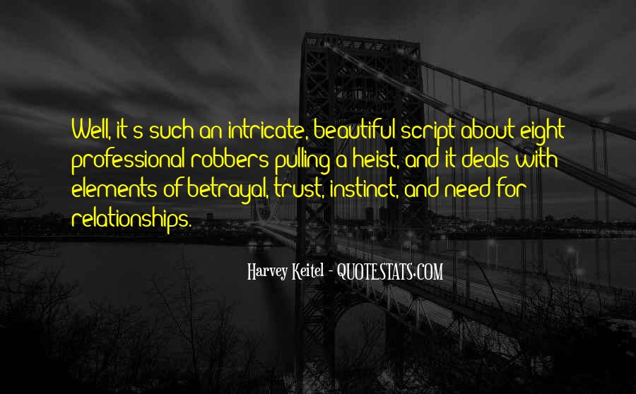 Quotes About Trust And Relationships #1018619