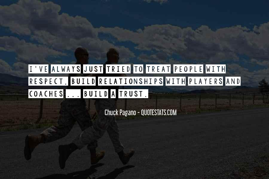 Quotes About Trust And Relationships #1242696