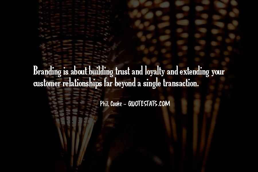 Quotes About Trust And Relationships #12848