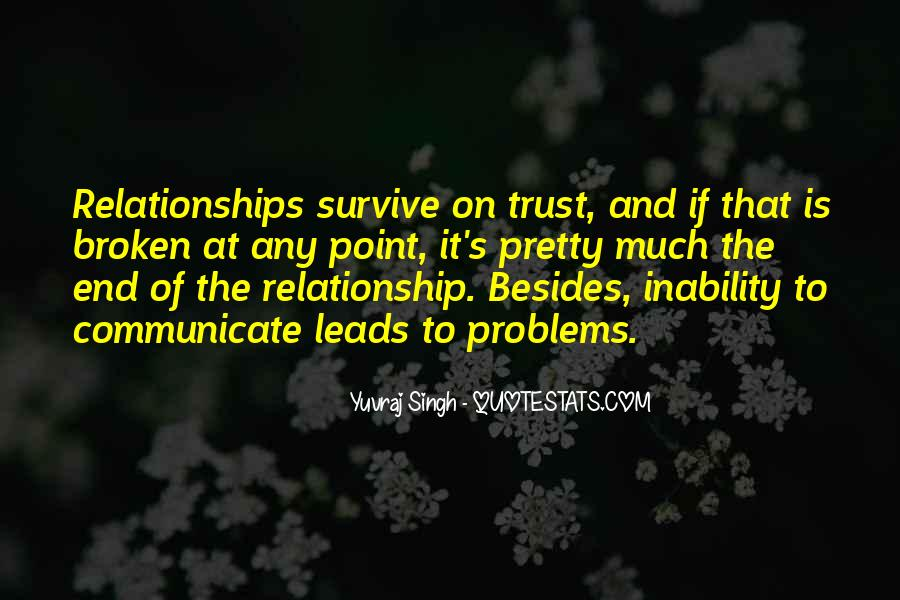 Quotes About Trust And Relationships #1286069