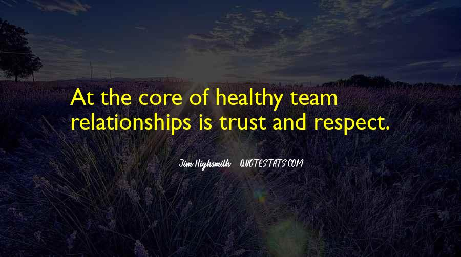 Quotes About Trust And Relationships #1322385