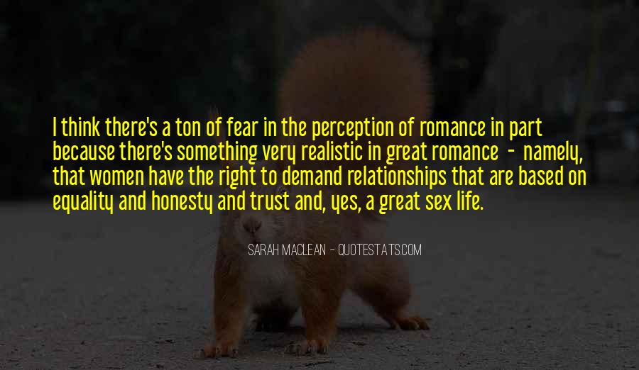 Quotes About Trust And Relationships #1351117
