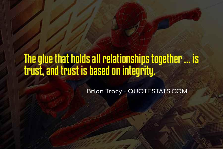 Quotes About Trust And Relationships #152337