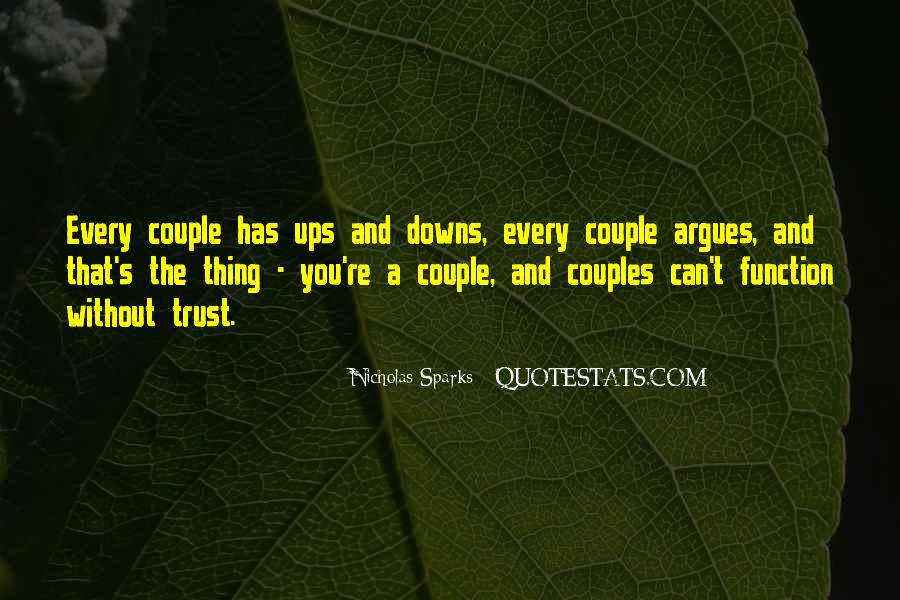 Quotes About Trust And Relationships #1633117