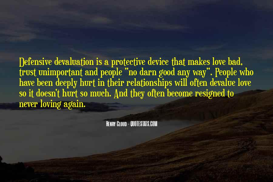 Quotes About Trust And Relationships #1700425