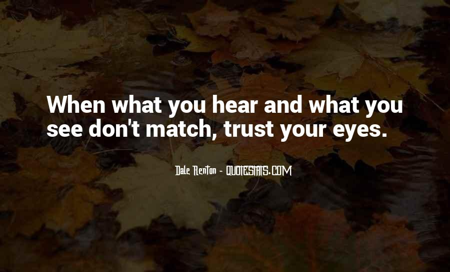 Quotes About Trust And Relationships #256908