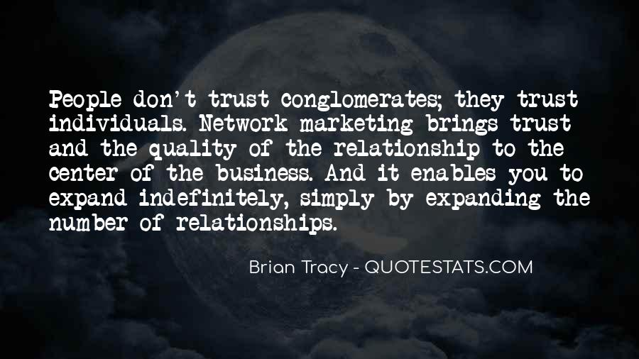 Quotes About Trust And Relationships #262256
