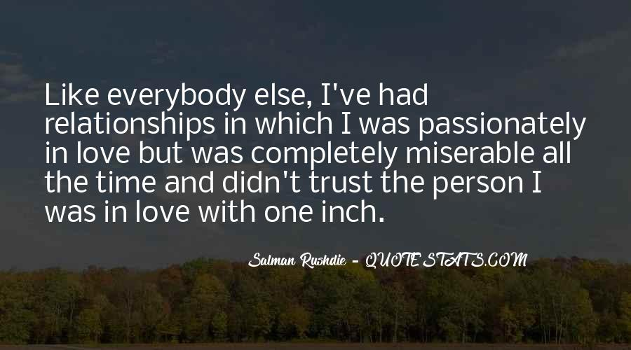 Quotes About Trust And Relationships #302104