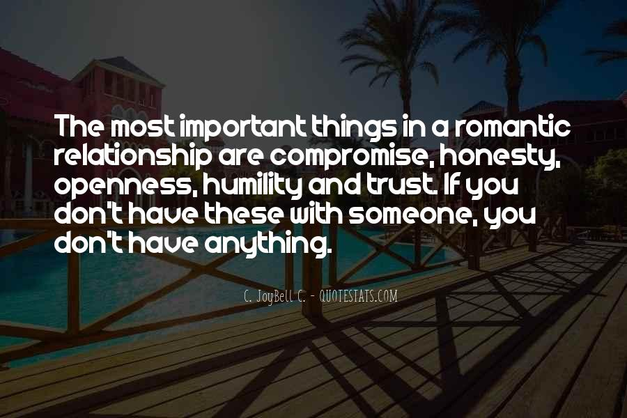 Quotes About Trust And Relationships #308638