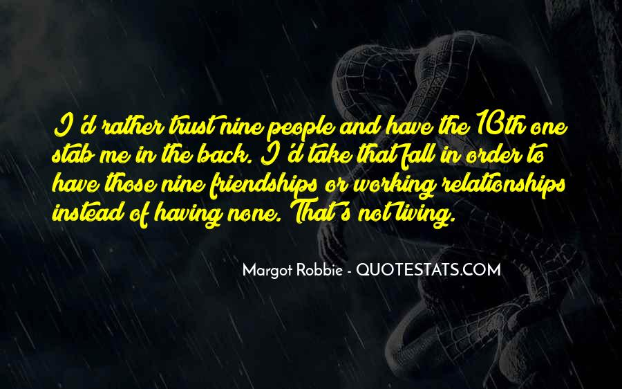 Quotes About Trust And Relationships #521967