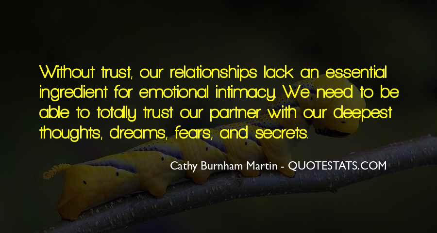 Quotes About Trust And Relationships #567987