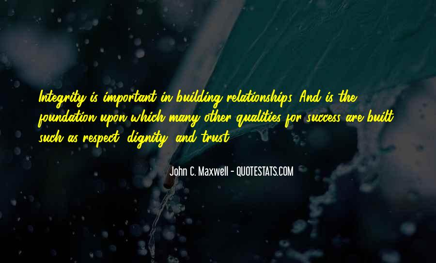 Quotes About Trust And Relationships #669627