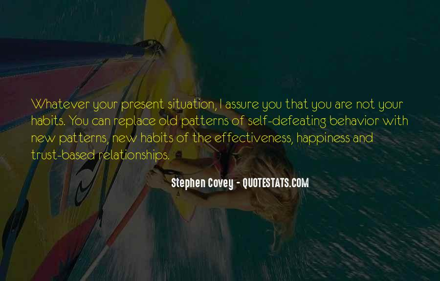Quotes About Trust And Relationships #810419
