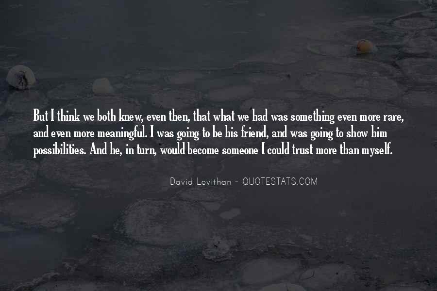 Quotes About Trust And Relationships #949734
