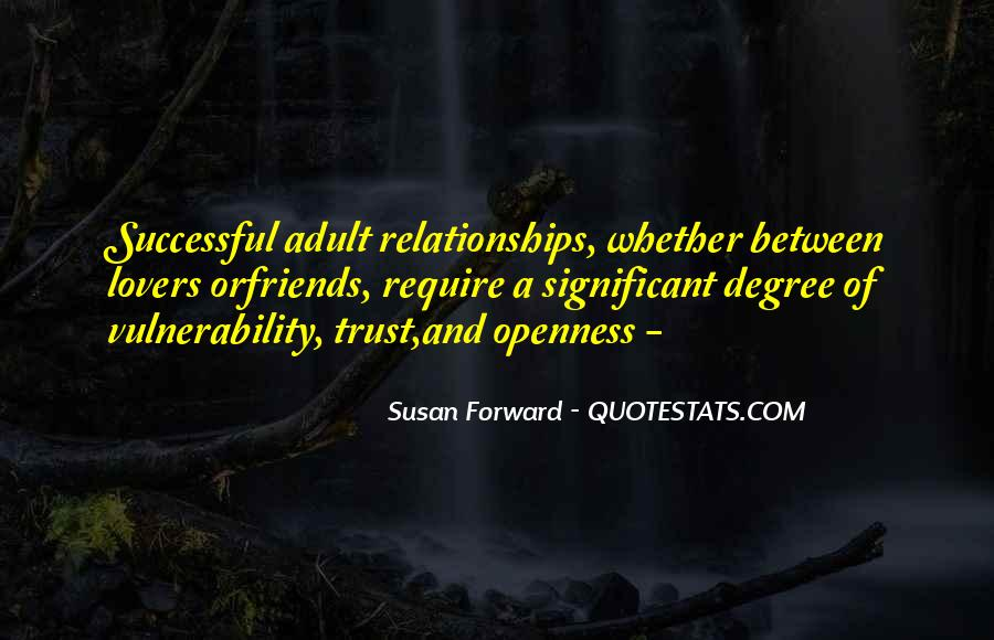 Quotes About Trust And Relationships #989545