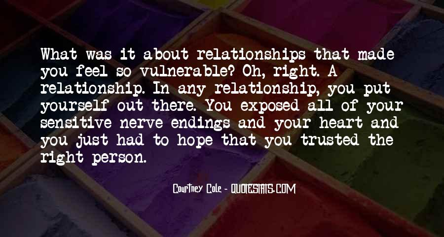 Quotes About Trust And Relationships #997816