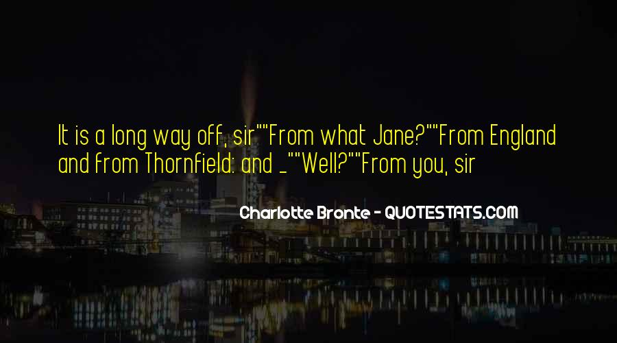 Quotes About Thornfield #905440