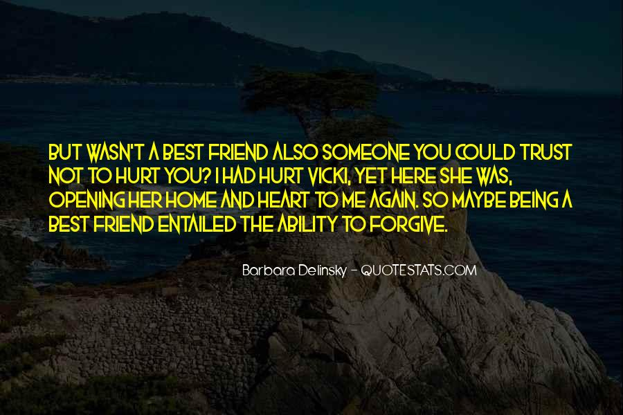 Quotes About Being Hurt From Your Best Friend #261102