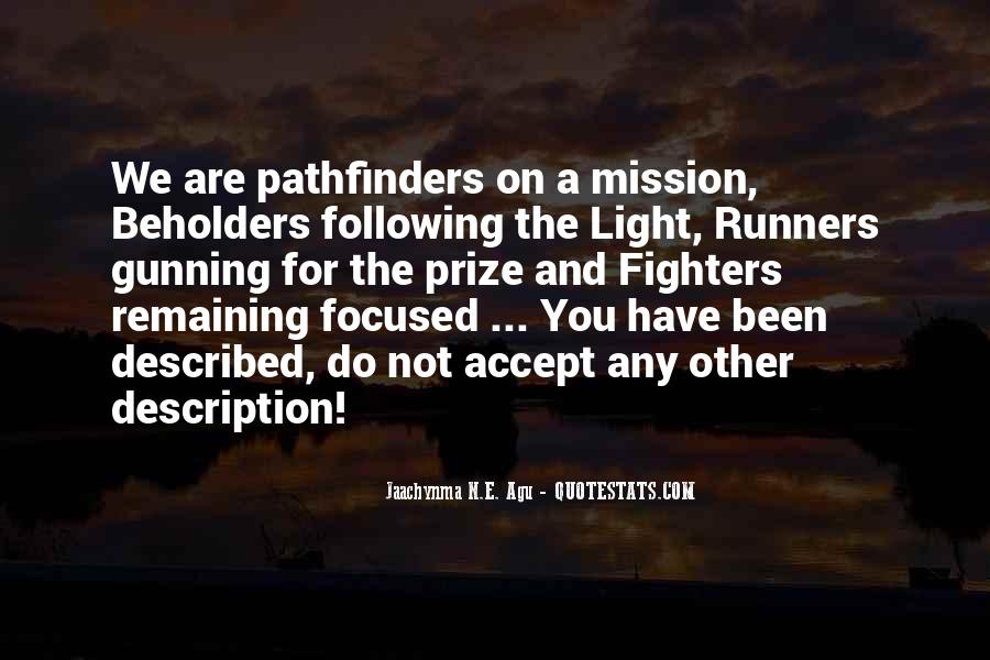Quotes About Pathfinders #1387800