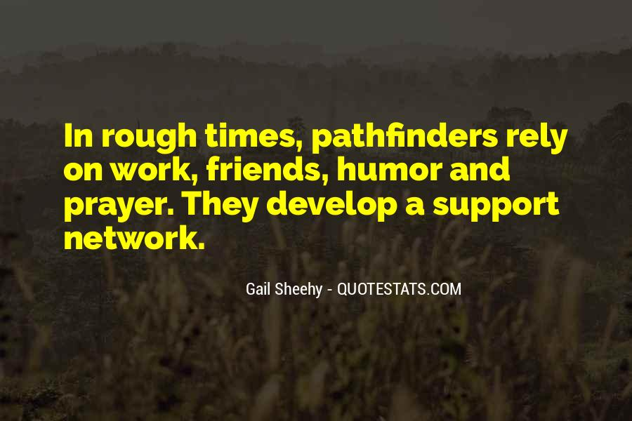 Quotes About Pathfinders #1470419
