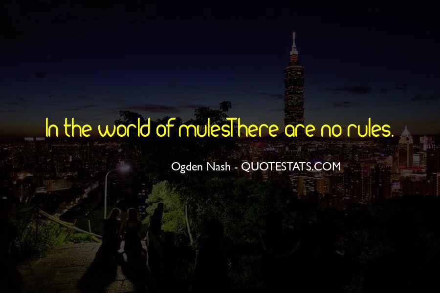 Quotes About Mules #1280228