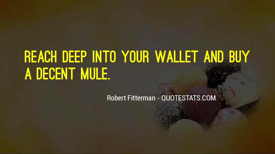Quotes About Mules #693522