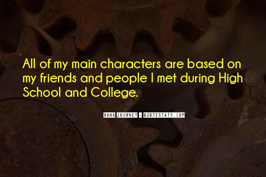 Quotes About Your College Friends #346967