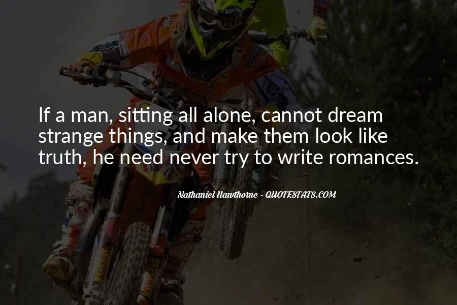 Quotes About Sitting Alone #1050812