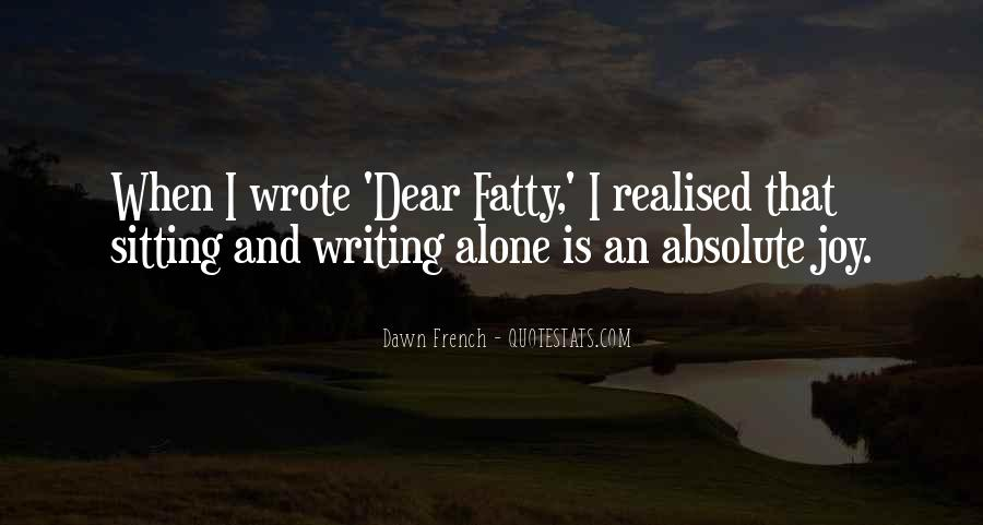 Quotes About Sitting Alone #1175494