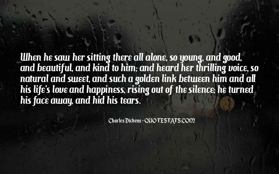 Quotes About Sitting Alone #1378708