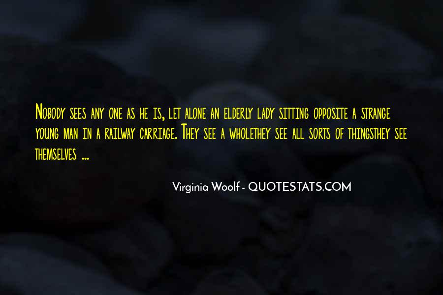 Quotes About Sitting Alone #1810039