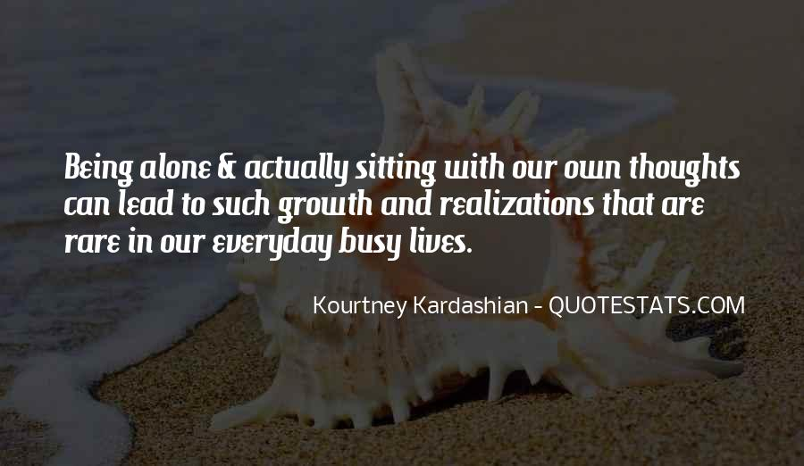 Quotes About Sitting Alone #388142