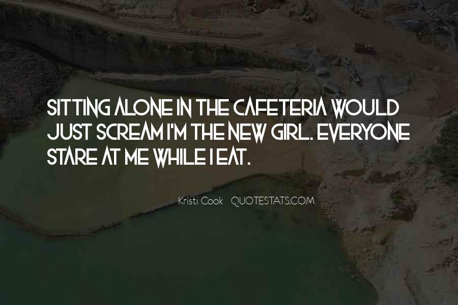 Quotes About Sitting Alone #518436