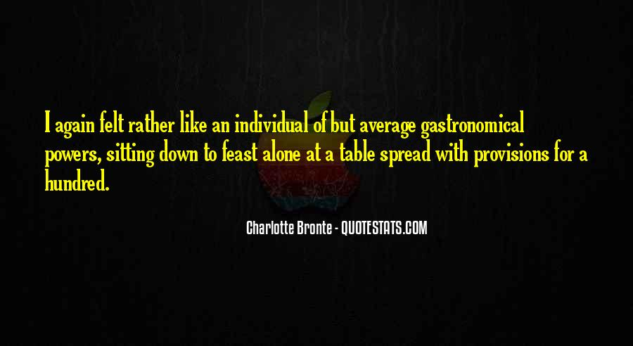 Quotes About Sitting Alone #545735