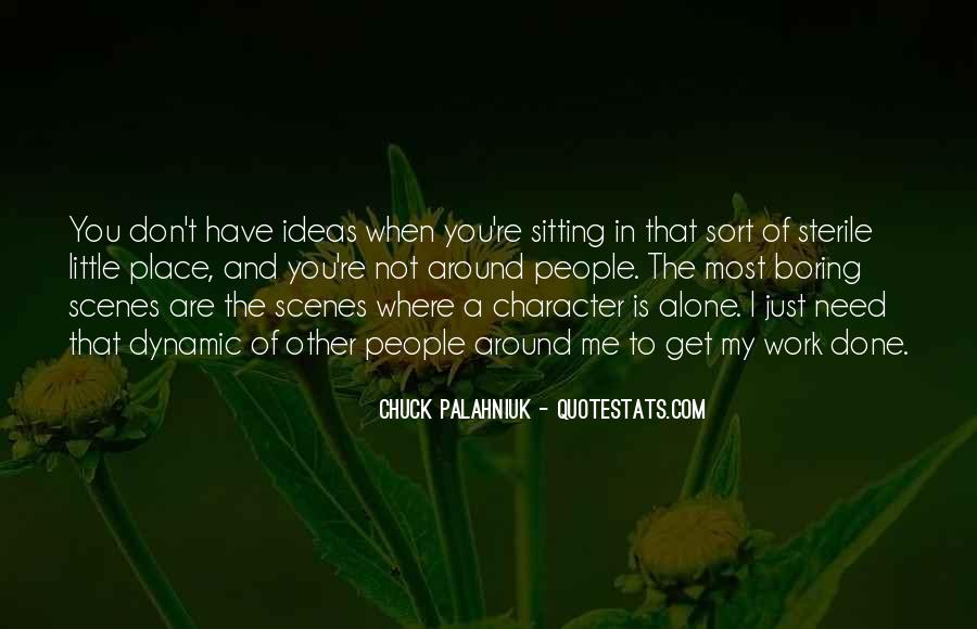 Quotes About Sitting Alone #694150