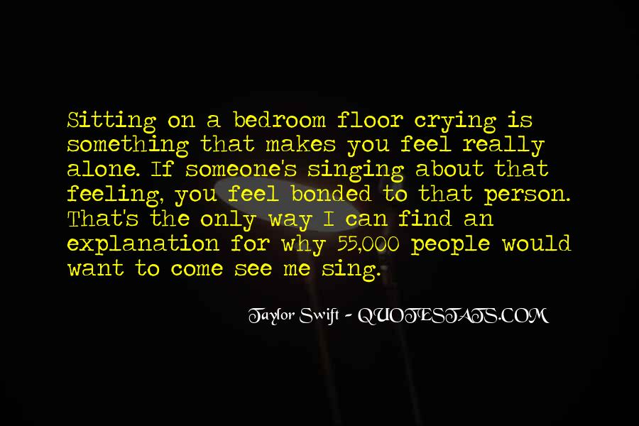 Quotes About Sitting Alone #793551
