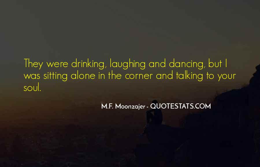 Quotes About Sitting Alone #812617