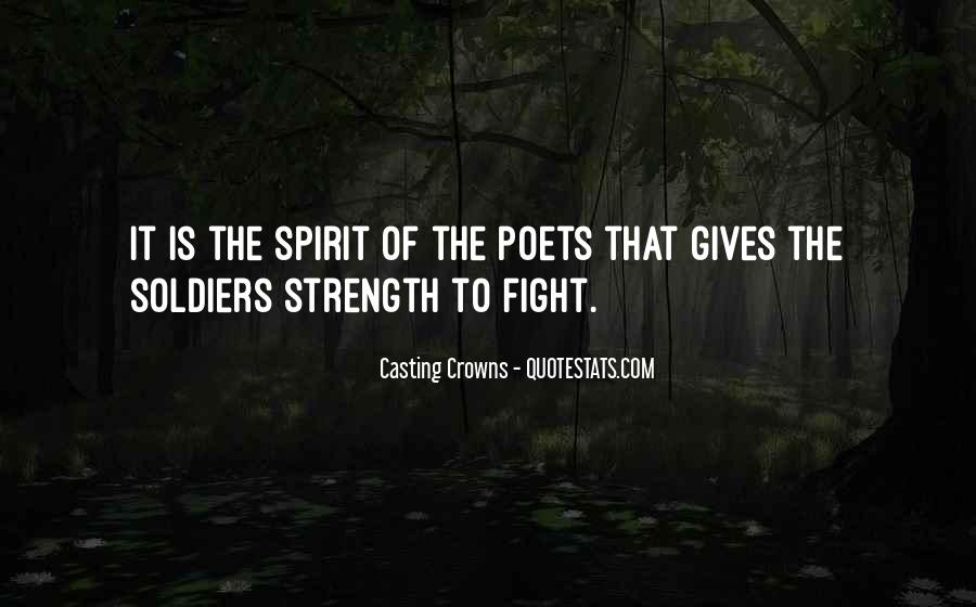 Quotes About Strength To Fight #1256802
