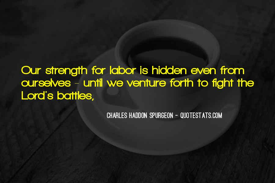 Quotes About Strength To Fight #1455871